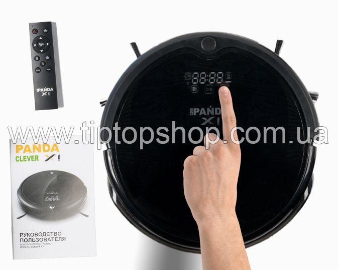 Купить  Роботи-пилососи X1 Black Фото№5